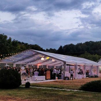 inchiriere cort pentru nunta transparent